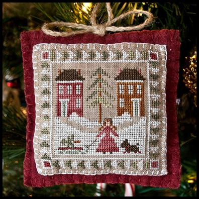 Little House Needleworks - Bringing Home the Tree