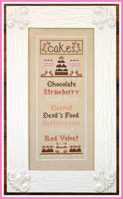 Little House Needleworks - Cake Menu