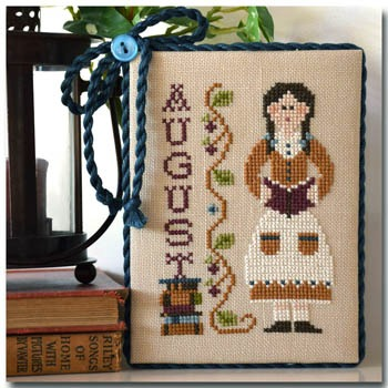 Little House Needleworks - Calendar Girls - August