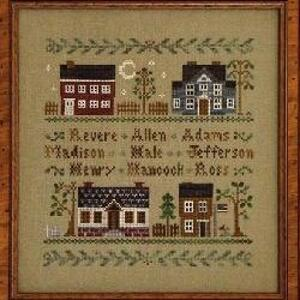Little House Needleworks - Colonial Homes
