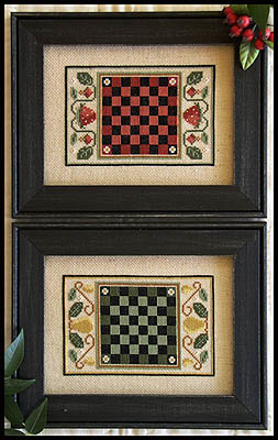 Little House Needleworks - Fruit Game Boards