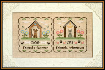 Little House Needleworks - Furry Friends