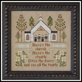 Little House Needleworks - Here's the Church