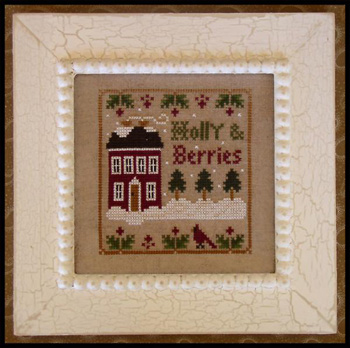 Little House Needleworks - Holly & Berries