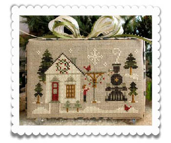 Little House Needleworks - Hometown Holiday - Main Street Station