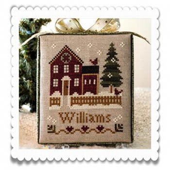 Little House Needleworks - Hometown Holiday - My House