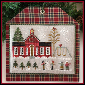 Little House Needleworks - Hometown Holiday - Schoolhouse