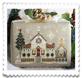 Little House Needleworks - Hometown Holiday - Town Church