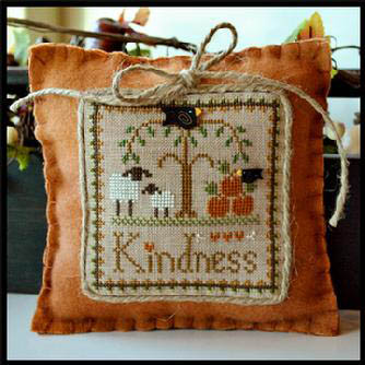 Little House Needleworks - Little Sheep Virtues #10 - Kindness