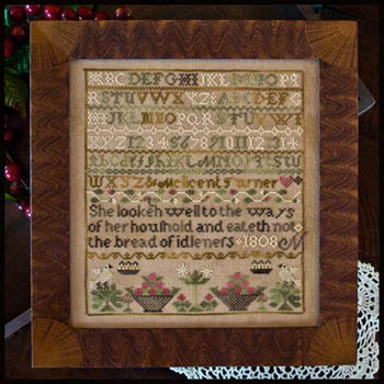 Little House Needleworks - Melicent Turner Sampler
