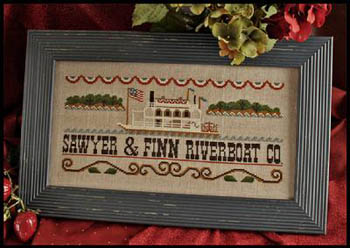 Little House Needleworks - Mississippi Riverboat