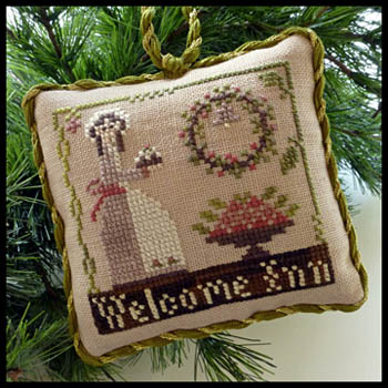 Little House Needleworks - Sampler Tree 9 - Welcome Inn