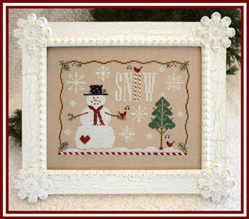 Little House Needleworks - Snow Days