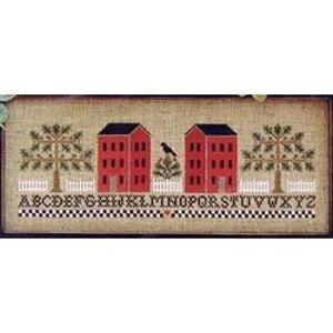 Little House Needleworks - Two Red Houses