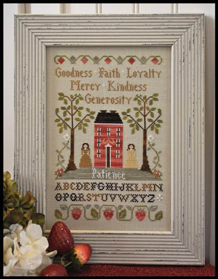 Little House Needleworks - Virtue Sampler