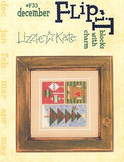 Lizzie*Kate - Flip-it Blocks - December
