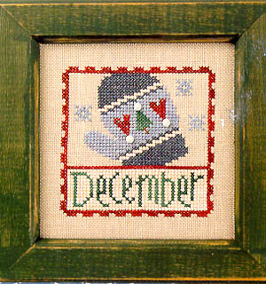 Lizzie*Kate - Flip-it Stamp - December