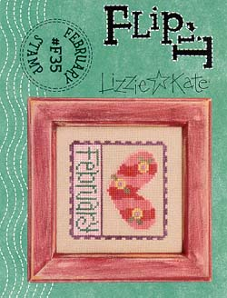 Lizzie*Kate - Flip-it Stamp - February