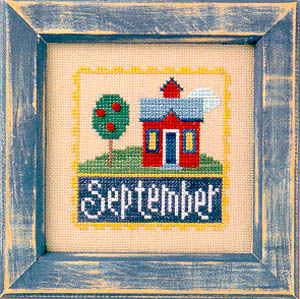 Lizzie*Kate - Flip-it Stamp - September