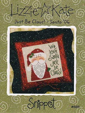 Lizzie*Kate - Just Be Claus - Santa 06
