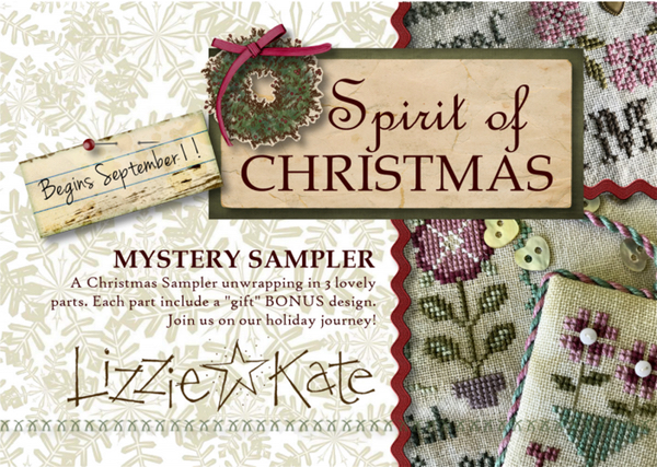 Lizzie*Kate Spirit of Christmas Mystery Sampler Project of the Month Club