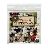 Lizzie*Kate - Spirit of Christmas Mystery Sampler - Embellishment Pack