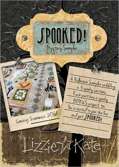 Lizzie*Kate - Spooked! Mystery Sampler - Part 1