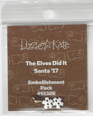 Lizzie*Kate - The Elves Did It - Santa 2017 Embellishment Pack