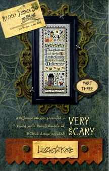 Lizzie*Kate - Very Scary Halloween Mystery Sampler - Part 3