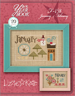 Lizzie*Kate - Yearbook Double Flip - January and February