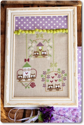 Madame Chantilly - Spring Owls