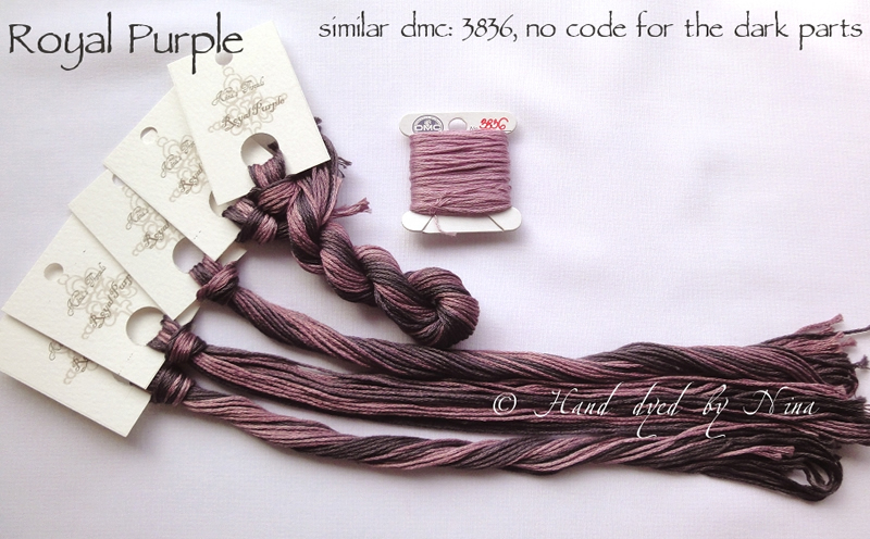 Nina's Threads - Royal Purple