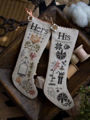 Plum Street Samplers - His & Hers Thanksgiving Stockings