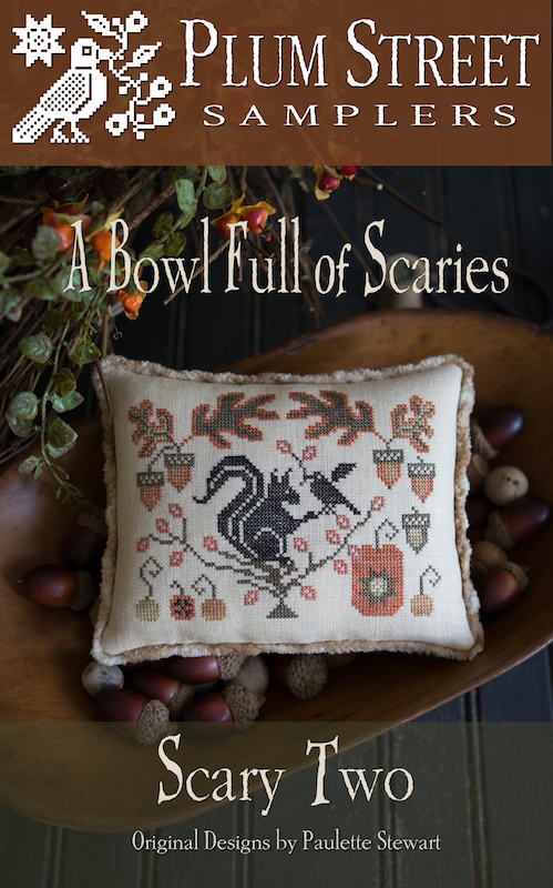 Plum Street Samplers - Serial Bowl - Bowl Full of Scaries - Scary Two