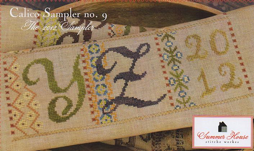 Summer House Stitche Workes - Calico Sampler #9 - YZ