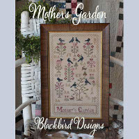 Blackbird designs tending the garden the patchwork rabbit for Tending the garden blackbird designs