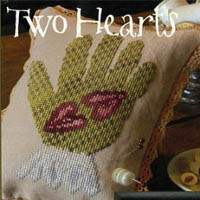 Blackbird Designs - Two Hearts - Loose Feathers #34