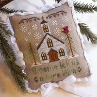 Country Cottage Needleworks - Classic Collection #6 - Let us Adore Him
