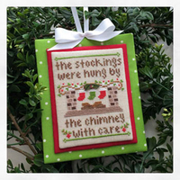 Country Cottage Needleworks - Classic Collection #7 - By the Chimney