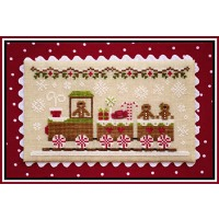 Country Cottage Needleworks - Gingerbread Village #1 - Gingerbread Train
