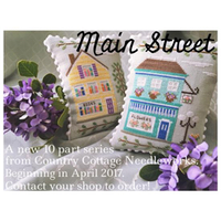 Country Cottage Needleworks' Main Street Project of the Month Club