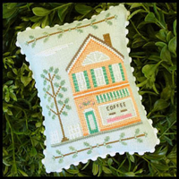Country Cottage Needleworks - Main Street Part 4 - Coffee Shop