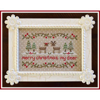 Country Cottage Needleworks - Merry Christmas My Deer