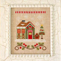 Country Cottage Needleworks - Santa's Village #10 - Gingerbread Emporium