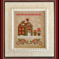 Country Cottage Needleworks - Santa's Village #2 - Poinsettia Place