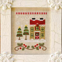 Country Cottage Needleworks - Santa's Village #7 - Christmas Tree Farm