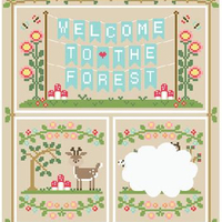 Country Cottage Needleworks' Welcome to the Forest Project of the Month Club