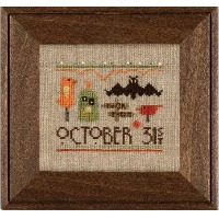 Heart in Hand Needleart - A Smidgen of Halloween
