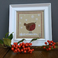 Heart of Hexham - Christmas Robin