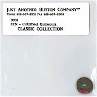 Classic Collection #9 - Christmas Birdhouse button pack